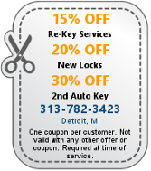 Image for site of Detroit MI Locksmith Service